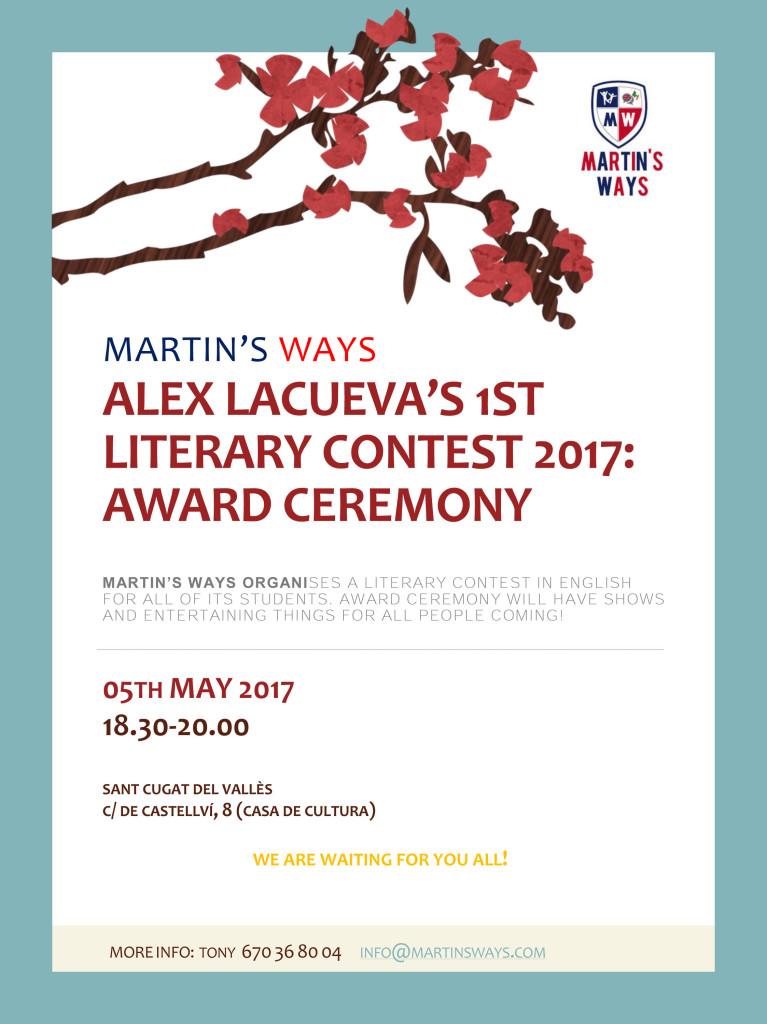 Literary contest leaflet 2017
